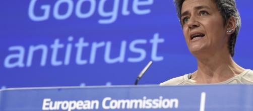 Con la sua battaglia contro le multinazionali da Commissario europeo alla concorrenza,Margrethe Vestager può aspirare alla presidenza