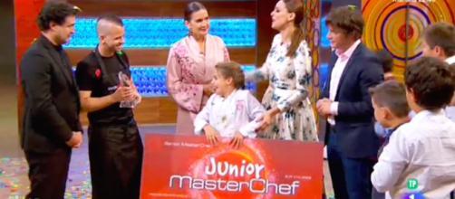 Esther gana la quinta edición de MasterChef Junior España