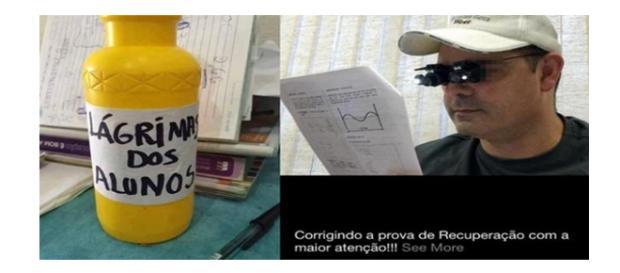 Alguns professores usaram a criatividade a seu favor