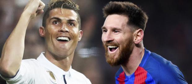 Cristiano Ronaldo e Leo Messi continuam rivalidade