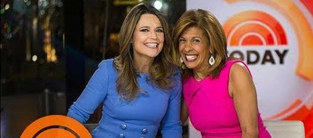 Hoda Kotb is the new co-anchor of the 'Today' show with Savannah Guthrie [Image: TODAY/YouTube screenshot]