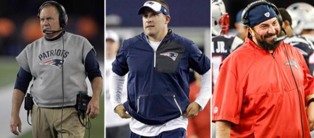 Lions GM Bob Quinn could break up the Patriots trio if he hires McDaniels or Patricia. [Image Credit NFL/YouTube screencap]