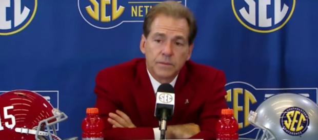 Nick Saban faces his former colleague Kirby Smart in the National Championship Game. - [AL.com / YouTube screencap]