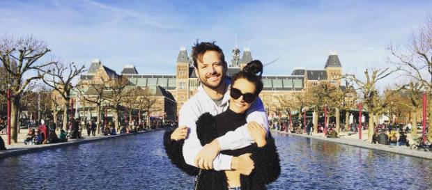 Robert Parks-Valletta and Scheana Marie in Amsterdam. [Image Credit: Robert Parks-Valletta/Instagram]