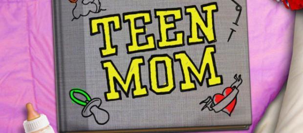 The 'Teen Mom' show logo. - [Photo via MTV / YouTube screencap]