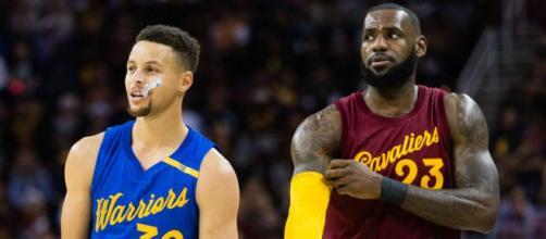 LeBron y Curry son los capitanes del Juego de las Estrellas de la NBA