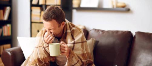 Las personas con gripe contaminan el aire a su alrededor con virus infecciosos con solo respirar