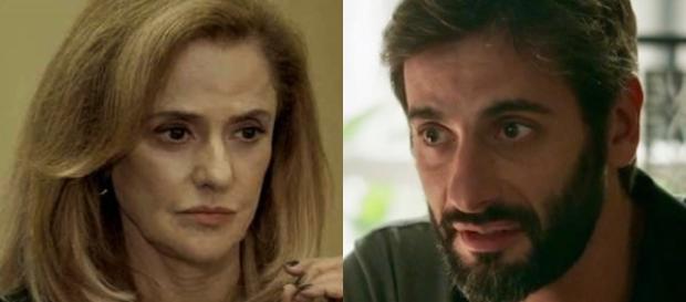 Sophia e Vinícius em ''O Outro Lado do Paraíso''