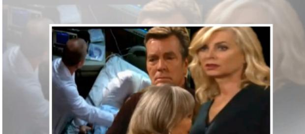 Jack and Ashley will fight for Jabot after Dina goes to Paris. - [the Daily News / YouTube screencap]