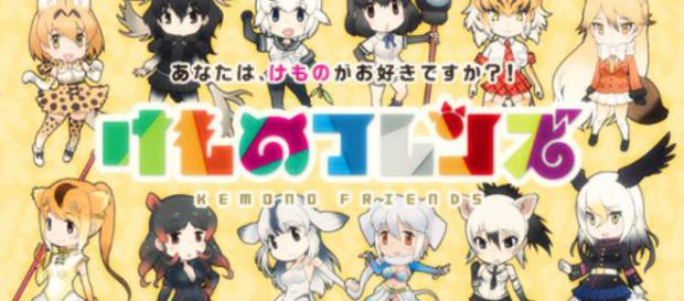 'Kemono Friends' el anime infantil