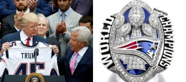 Los Patriots del Súper Tazón le dieron a Trump una inscripción épica Obama ... - conservativetribune.com