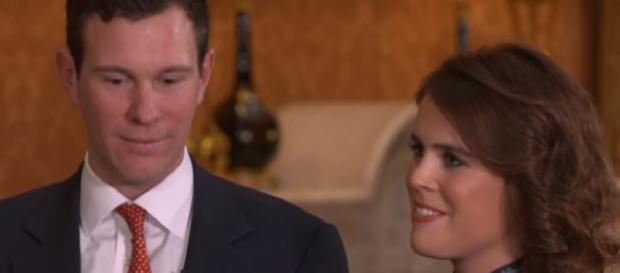 Princess Eugenie announces engagement to boyfriend Jack Brooksbank -- YouTube/Global News Channel