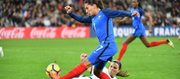 Una fase di Francia-Italia femminile