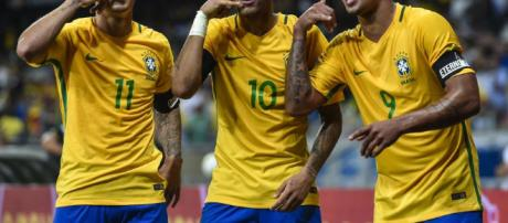 The trident of Brazil will be feared in Russia - bleacherreport.com
