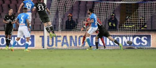 Doppietta Milik, vince Mertens: 4-2, Milan ridicolo! - Notte Sport ... - nottesport.it