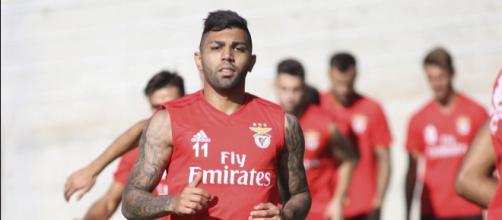 Gabigol estava jogando no Benfica