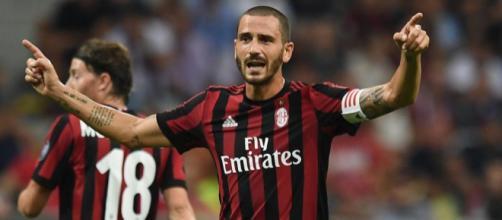 Leonardo Bonucci, uno dei protagonisti del match della Sardegna Arena - (fonte: eurosport.com)