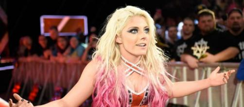Nobody saw it coming, except for Alexa Bliss herself ... pic- thesun.co.uk