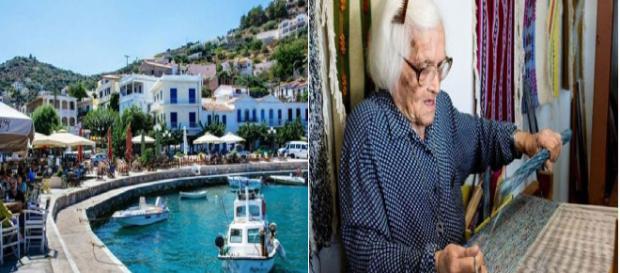 A centenária Ioanna Proiou que mora em Icaria