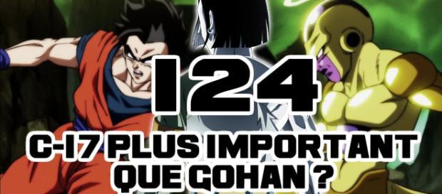 DBS 124 : C-17 plus important que Gohan ?