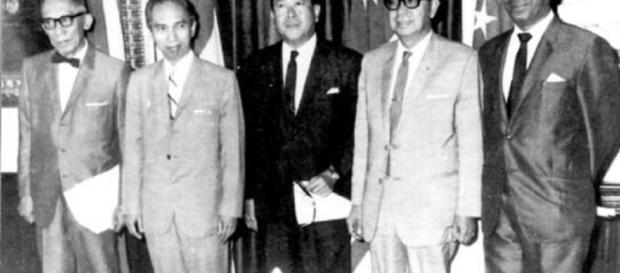 Los 5 padres fundadores de la ASEAN