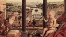 Lo que esconde Van Eyck en su pintura 'La Virgen de Rolin'