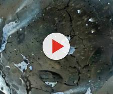 Representação artística de asteroide. Foto: Reprodução.