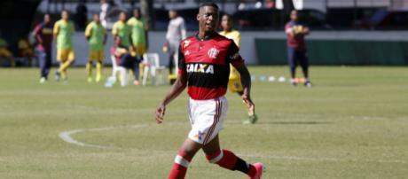Jean Lucas, jugador del Flamengo.
