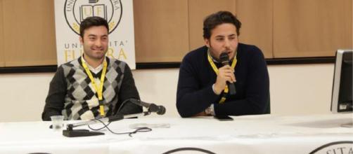 Domenico Tulino - Presidente del Consiglio degli Studenti Unical Nicola Feraudo - Rappresentante studenti all'interno del CdL di Giurisprudenza