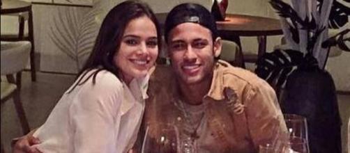 Neymar e Bruna reataram o relacionamento da virada do ano