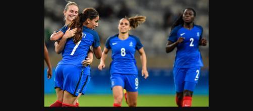 Francia contra Italia en el Futbol Femenino