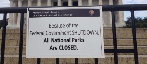 Government shutdown - NPCA Photos via Flickr