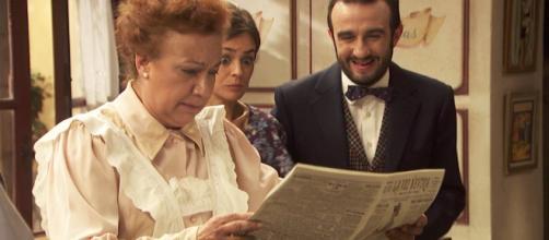 Il Segreto anticipazioni: Dolores riceve una brutta notizia
