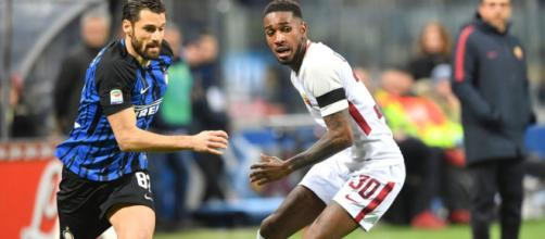 Inter-Roma, Candreva e Gerson in azione