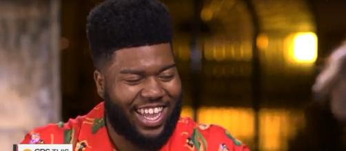 Khalid Robinson has the courage to get vulnerable, and it's grabbing him Grammy nods. Image cap CBS This Morning/YouTube