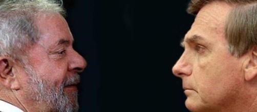 Lula x Bolsonaro: quem vencerá? (Foto Reprodução).