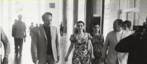Mario Francese fu l'unico ad intervistare Ninetta Bagarella (qui nella foto), moglie di Totò Riina