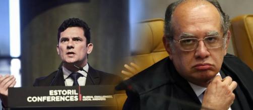 Mendes estaria revoltado com Sérgio Moro