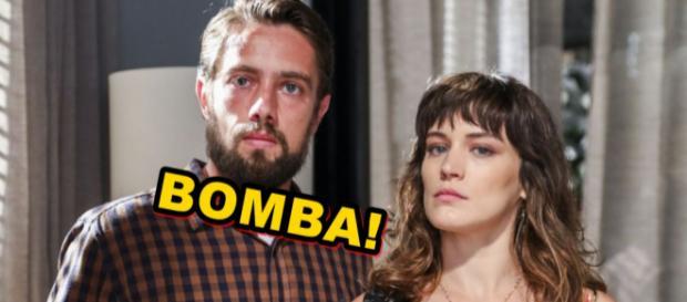 Clara e Renato só fazem maldades em novela das nove e vão se unir no folhetim