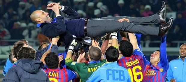 Guardiola lo ganó todo entrenando al Barcelona entre 2008 y 2012. Foto archivo EFE