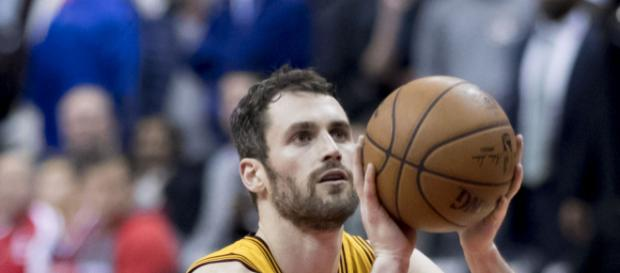 Kevin Love drew the ire of his teammates when he was out sick last weekend [Image via Wikimedia]