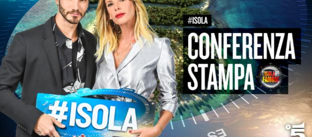 L'Isola dei Famosi 2018:Stefano De Martino e Alessia Marcuzzi