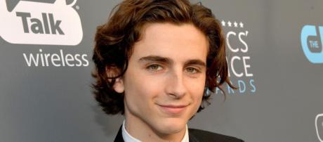 El actor americano de 22 años.