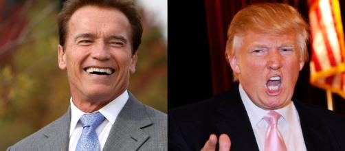 Arnold Schwarzenegger, Donald Trump, via YouTube