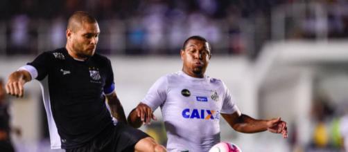 Bragantino vence o Santos na Vila Belmiro. (Foto Reprodução).