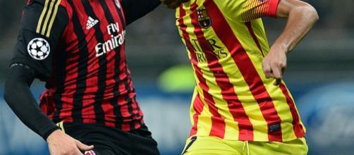 Clássico entre Barcelona e Milan