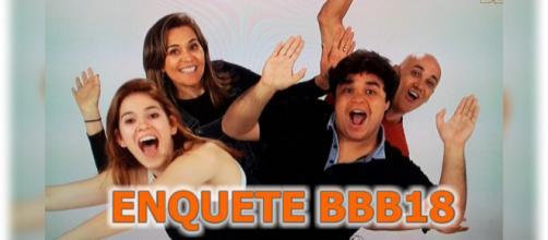 Enquete já aponta possíveis eliminados do ''BBB18''