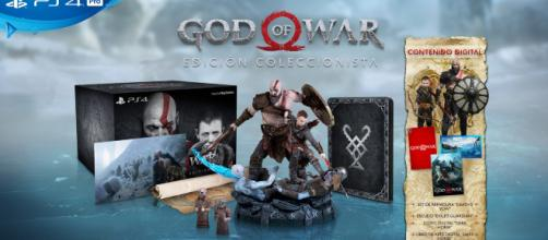 fecha de lanzamiento y ediciones especiales de God Of War
