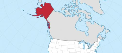 File: Alaska in the United States - TUBS via Wikimedia Commons