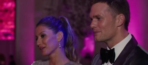 Gisele Bundchen and Tom Brady attend a fashion event (Image Credit: Vogue/YouTube)